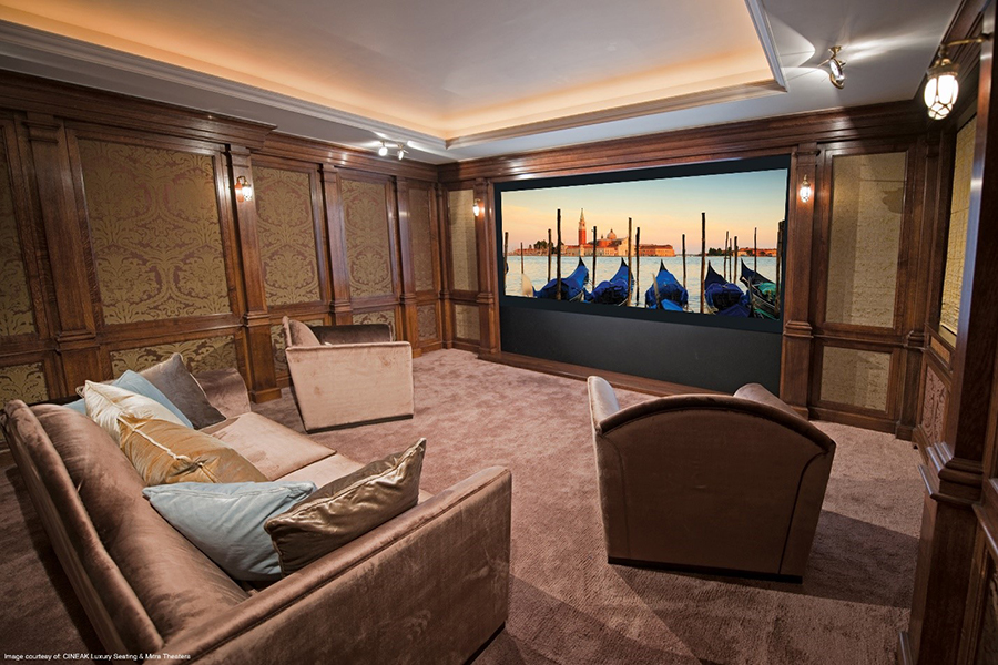 Putting the Finishing Touches on Your Dedicated Home Theater