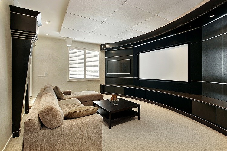 Motorized Shades for Your Home Theater