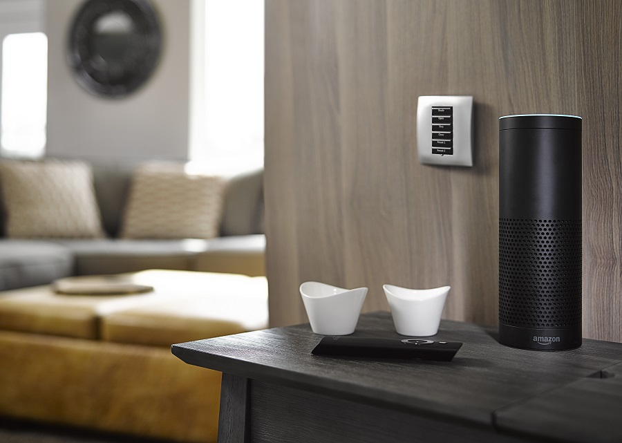 Lutron Lighting Systems Connect with the Amazon Alexa
