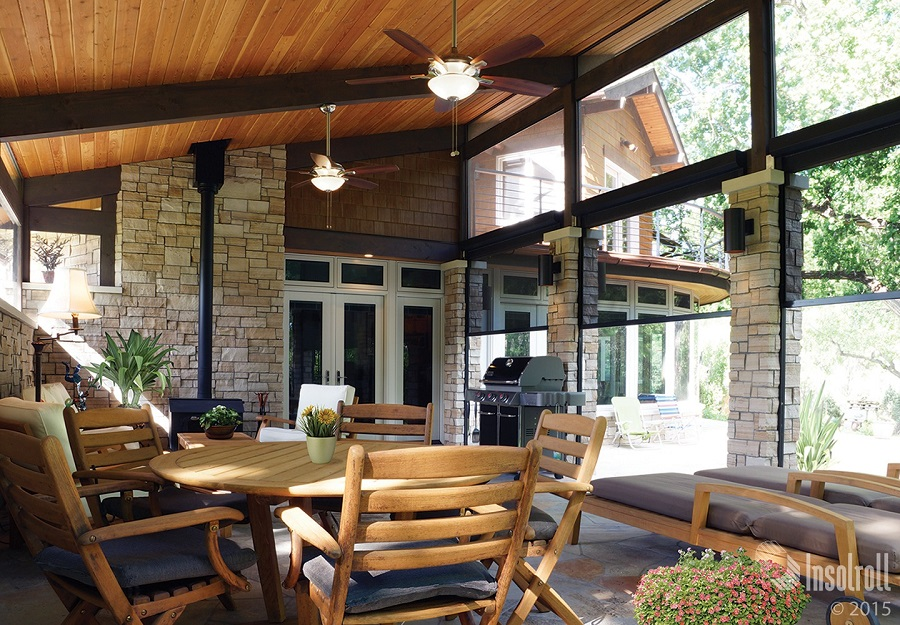 Block the Sun, Not the View, with Smart Patio Shades